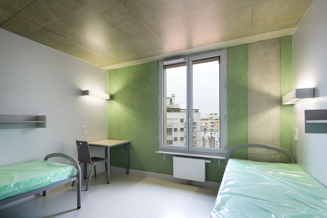 2014 - ROBAIN GUIEYSSE - centre hebergement - paris 1308