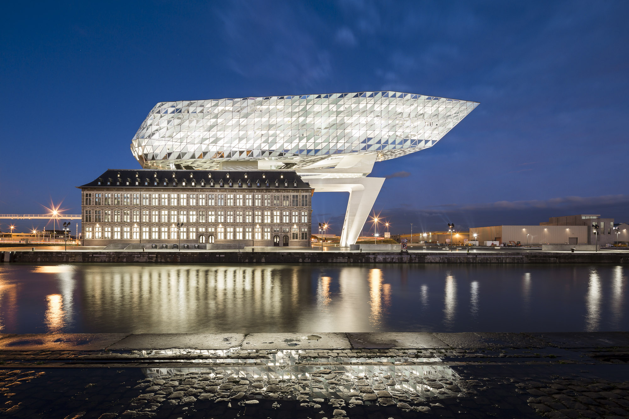 ANTWERP PORT HOUSE - ZAHA HADID